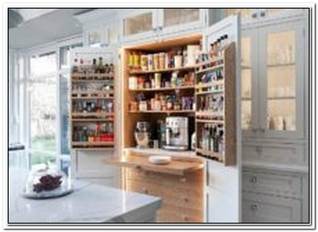 10 Small Pantry Ideas For An OrganizedSpaceSavvy Kitchen
