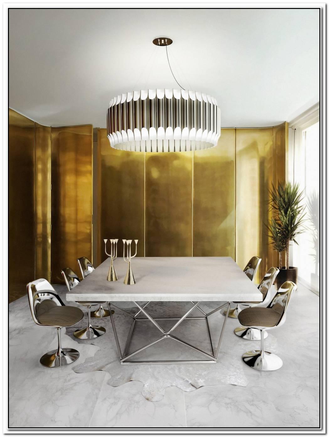 10 Splendid Contemporary Dining Room Design Ideas