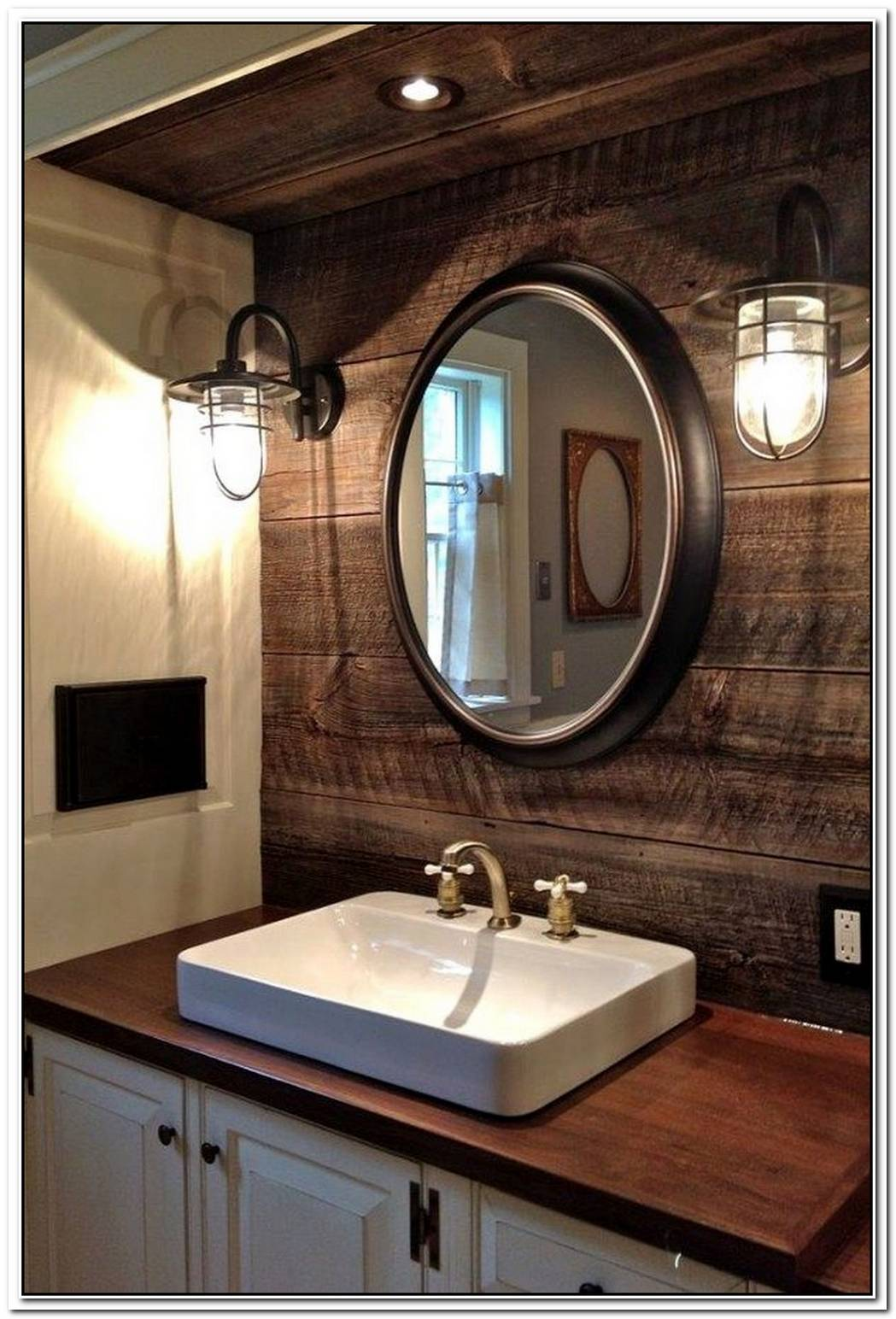 10 Stunning Industrial Bathroom Ideas