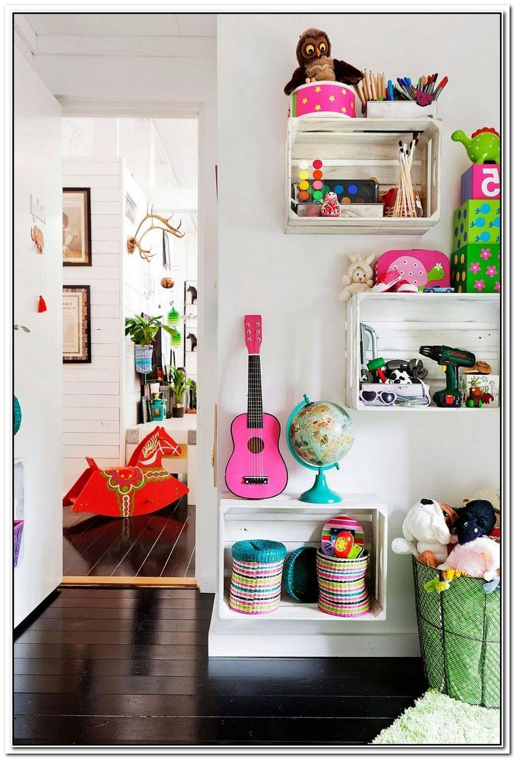 11 SpaceSaving DIY Kids' Room Storage Ideas That Help Declutter