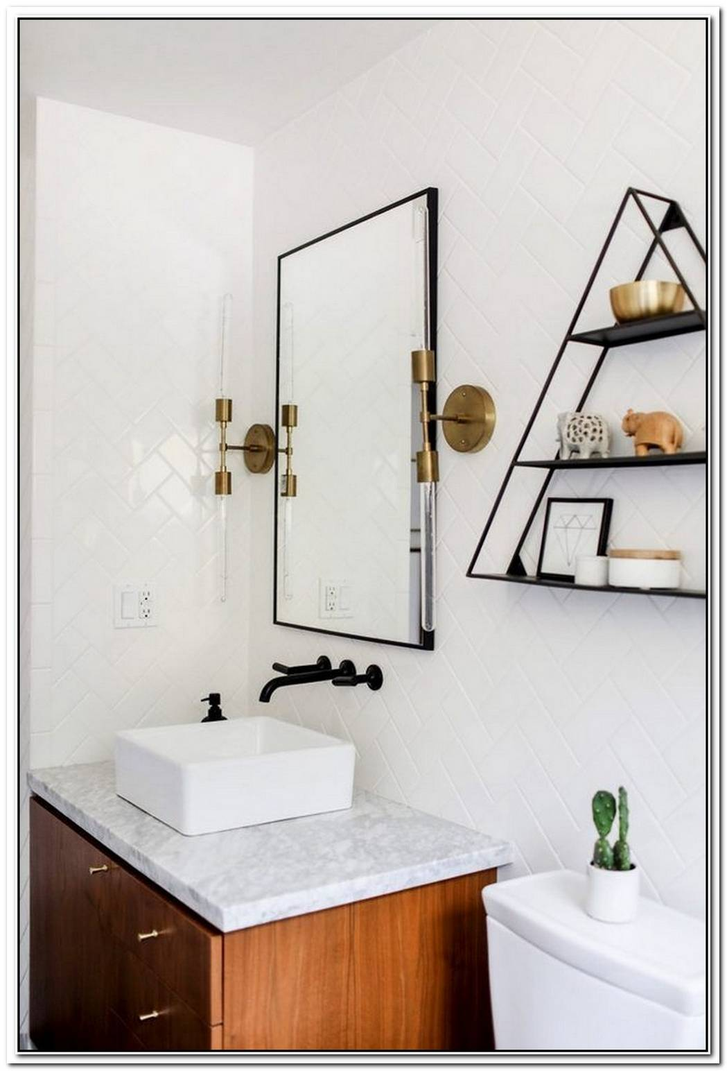 12 Brilliant Bathroom Light Fixture Ideas