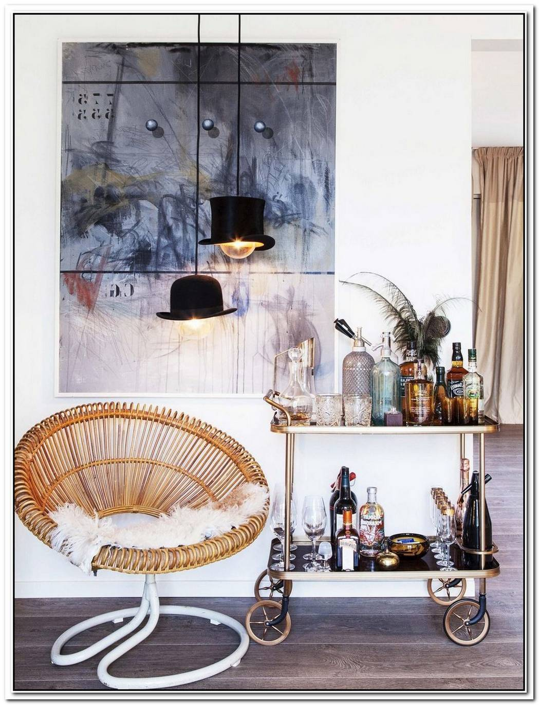 12 Ideas For Making Your Bar Cart Truly Swanky