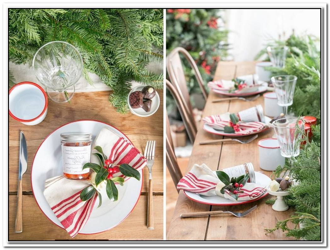 15 Christmas Table Settings To Win You Best Host