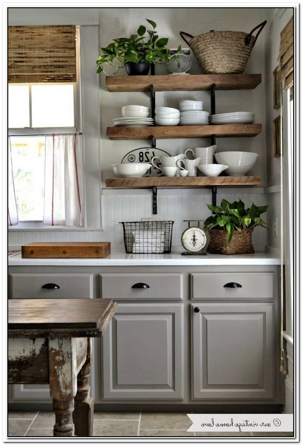 15 Pretty Storage Pieces To Decorate Your Apartment Kitchen