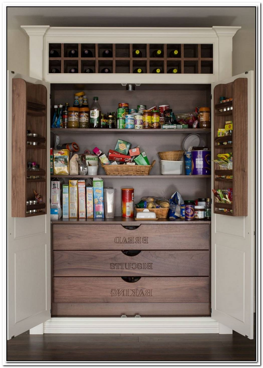 15 Stylish Pantry Organizer Ideas For Your Kitchen