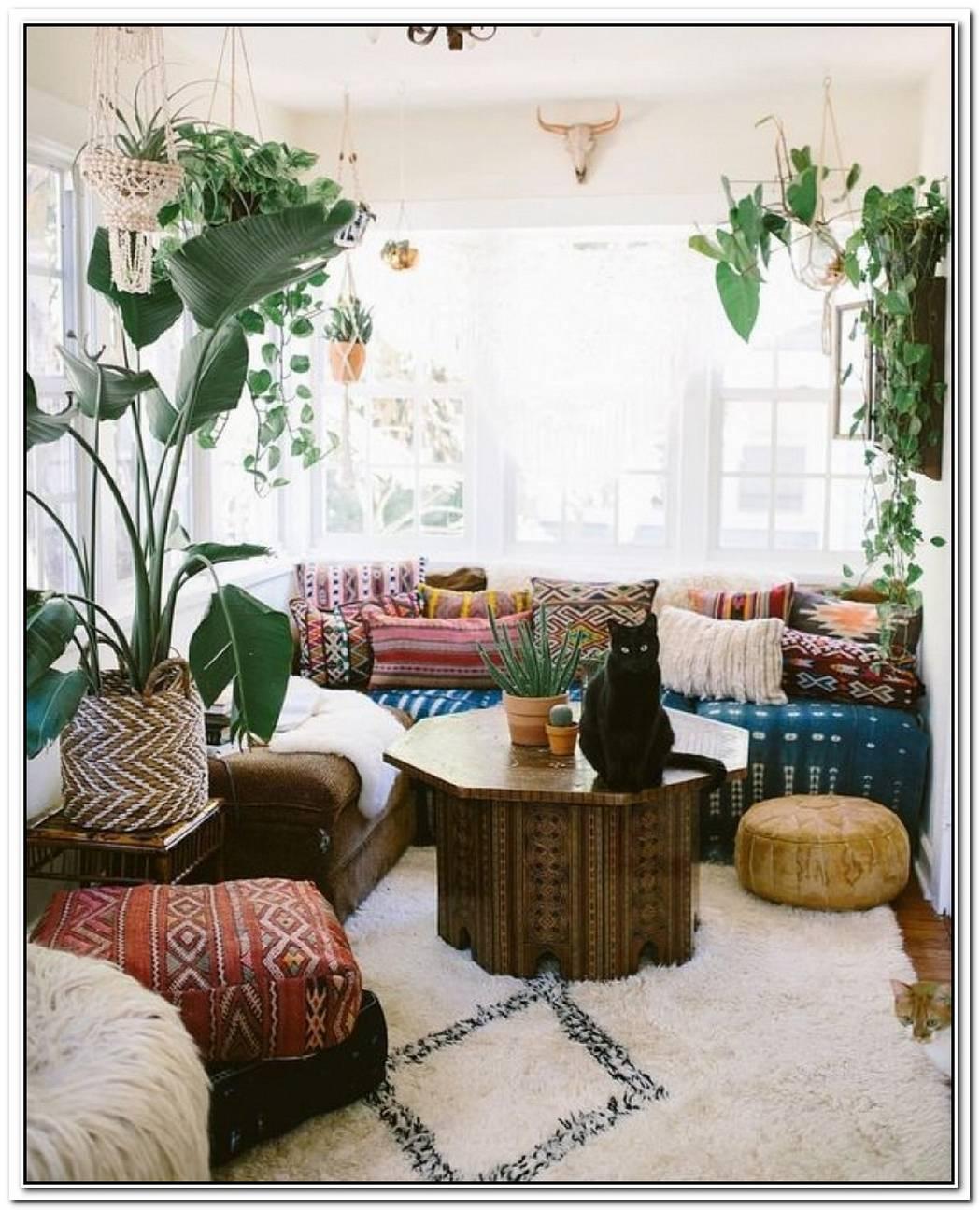 19 Boho Living Room Ideas