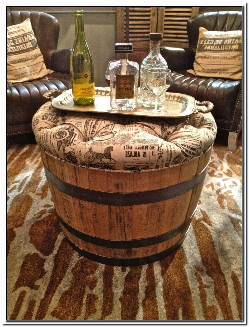 19 Interesting Ways Of Using Wine Barrels In Home D%C3%A9cor
