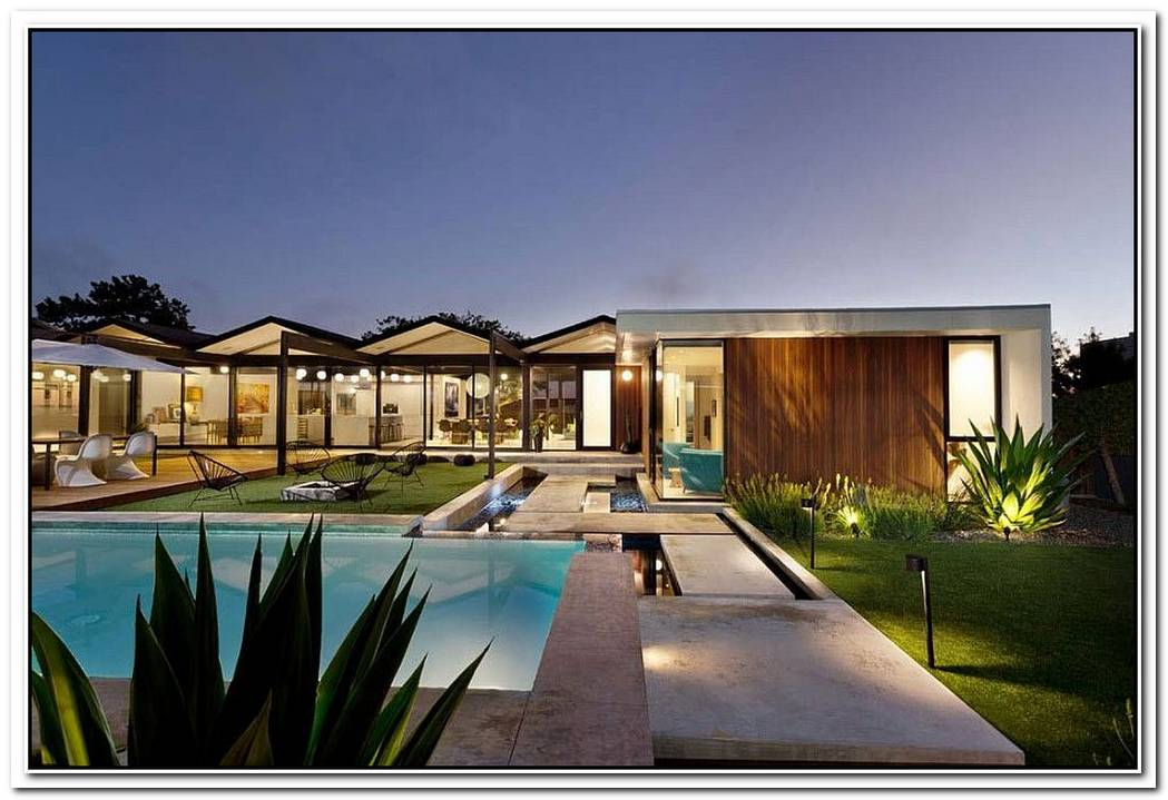 1966 LA Home Designed By Pierre Koenig Turned Into An Affluent Modern Escape