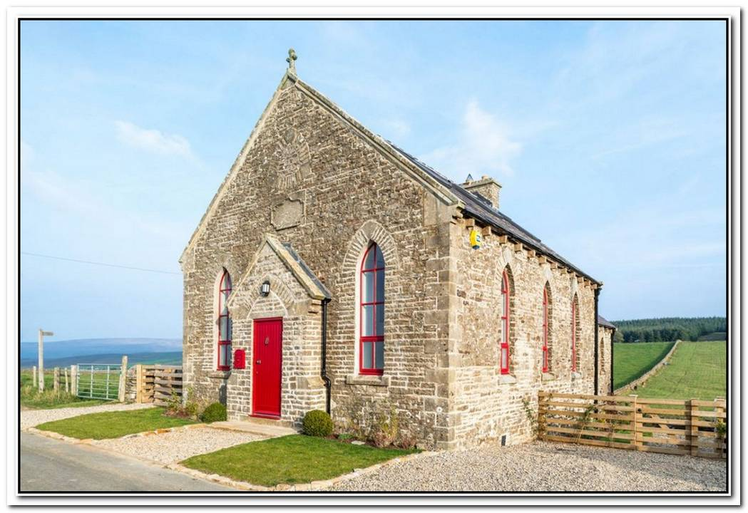 19th Century Church Converted Into Charming Holiday Cottage