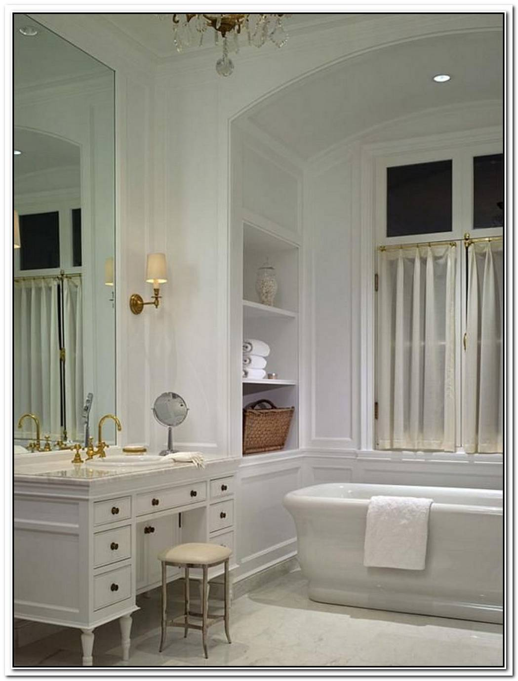 20 Elegant Bathroom Makeover Ideas