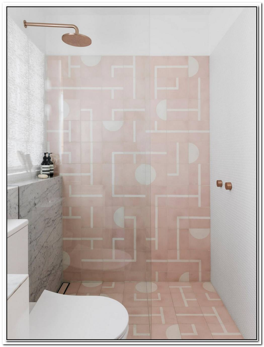 20 Pink Bathrooms That Are Positively Swoon Worthy