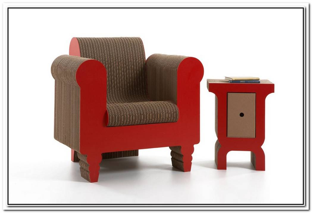 2012 Cardboard Furniture Collection By Roberto Giacomucci