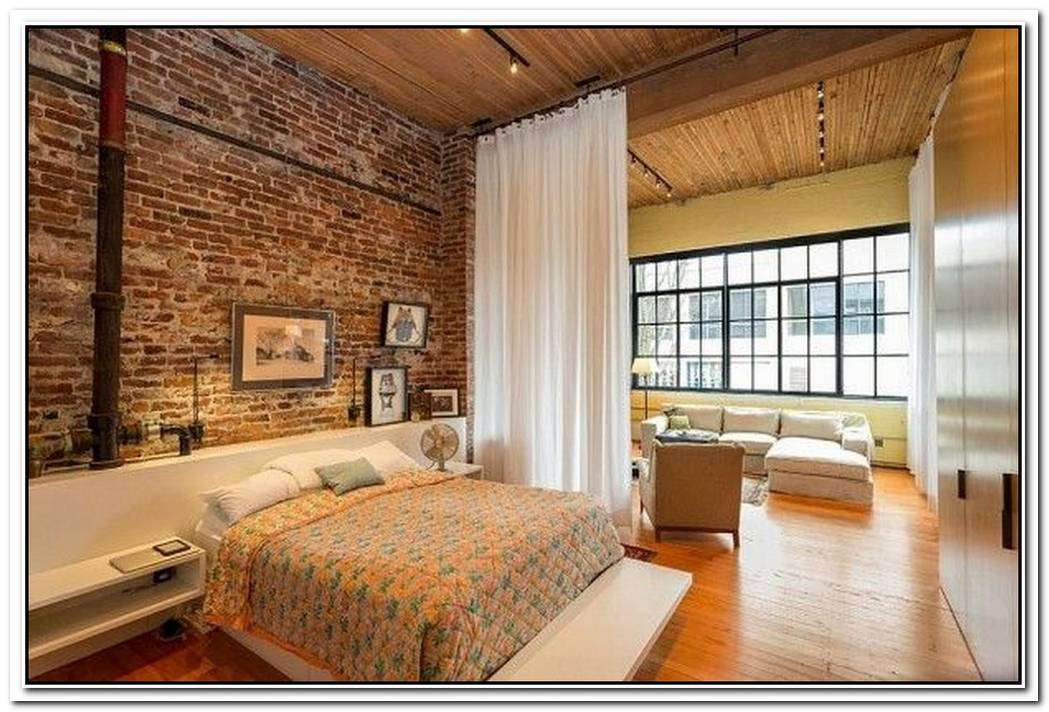 36 Dashing Industrial Bedrooms That Bring Home Trendy Refinement