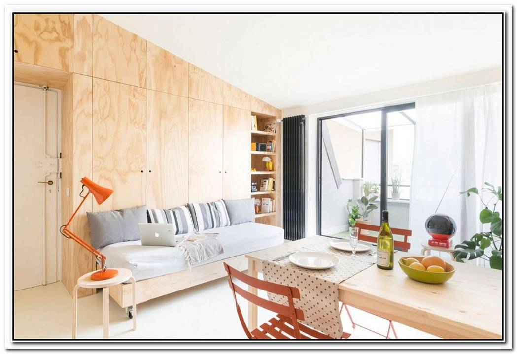 37 Square Meter Flat Boosting An Open Space Area