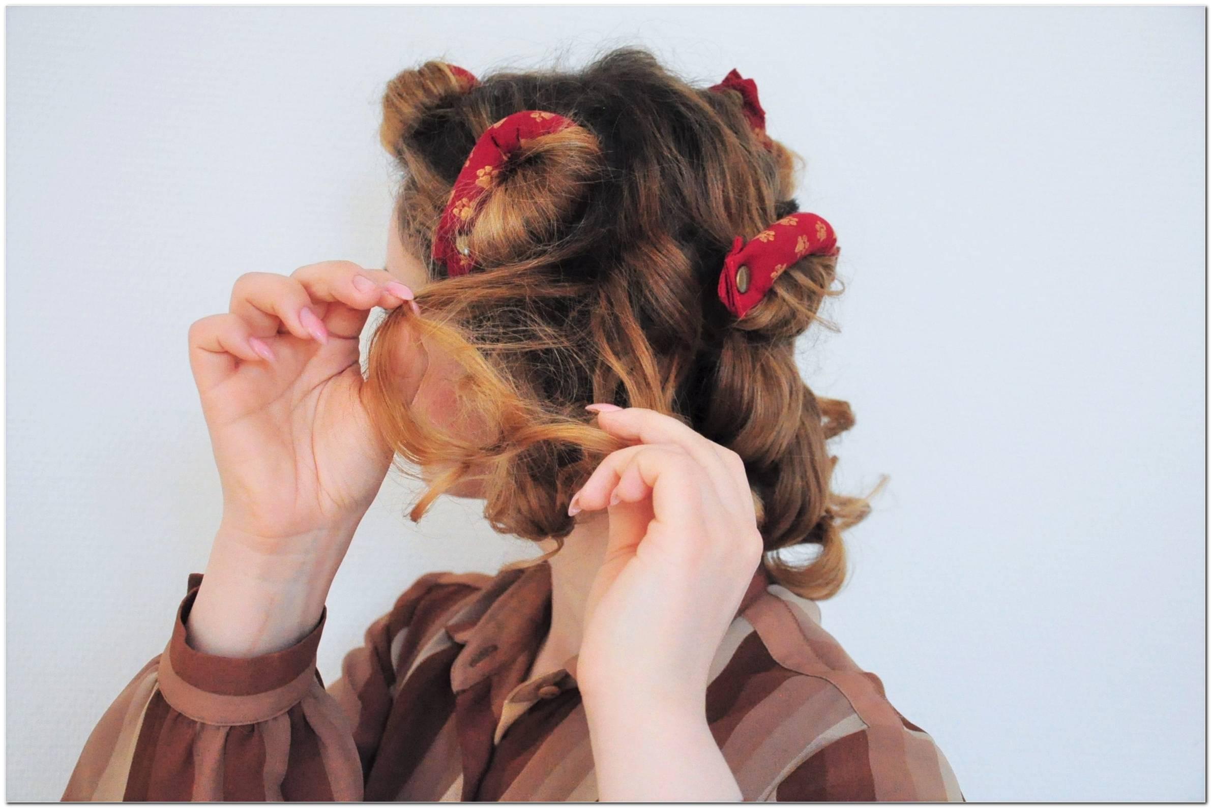 40er Jahren Frisuren Selber Machen