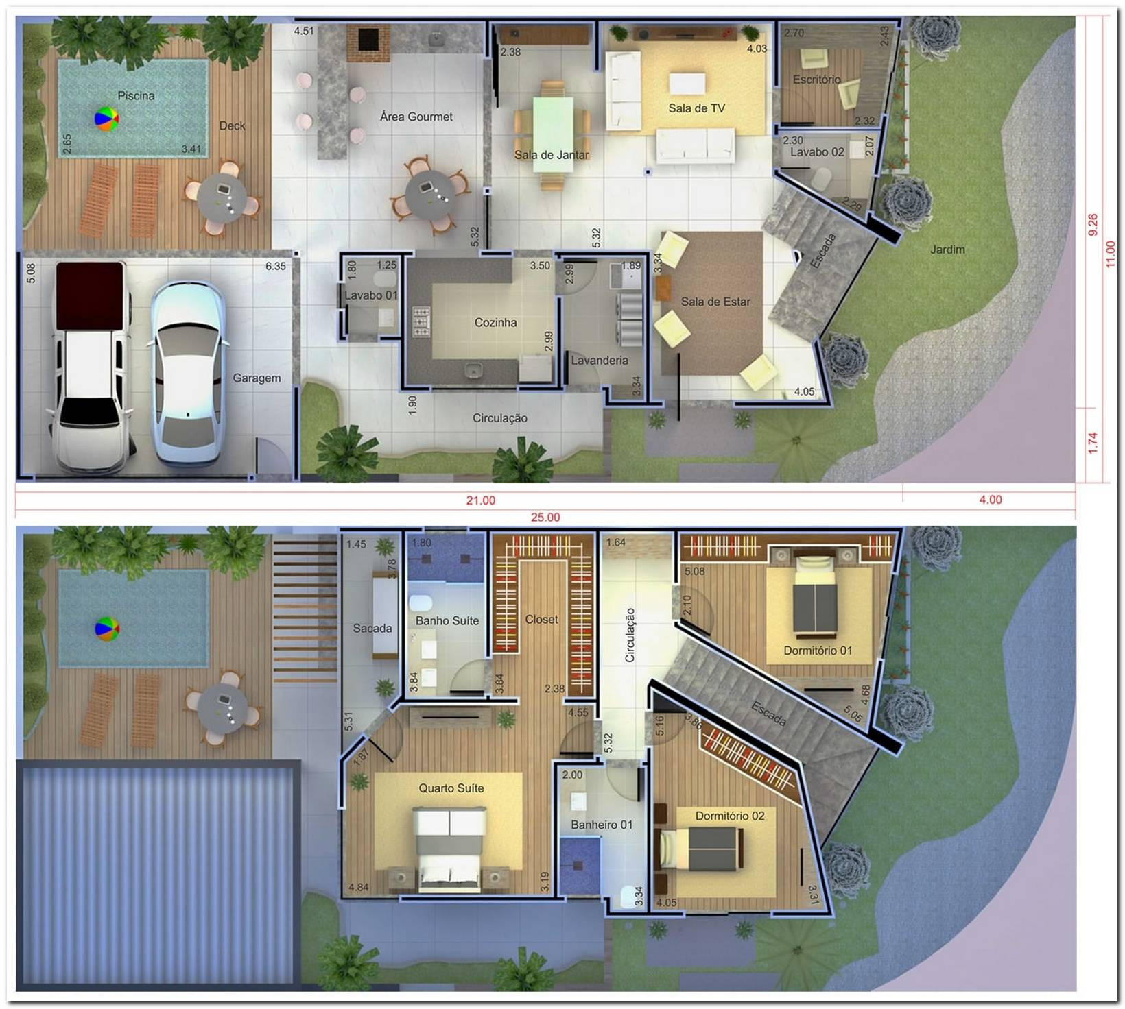 45 Casas De Esquina Fachadas Projetos E Plantas Incríveis