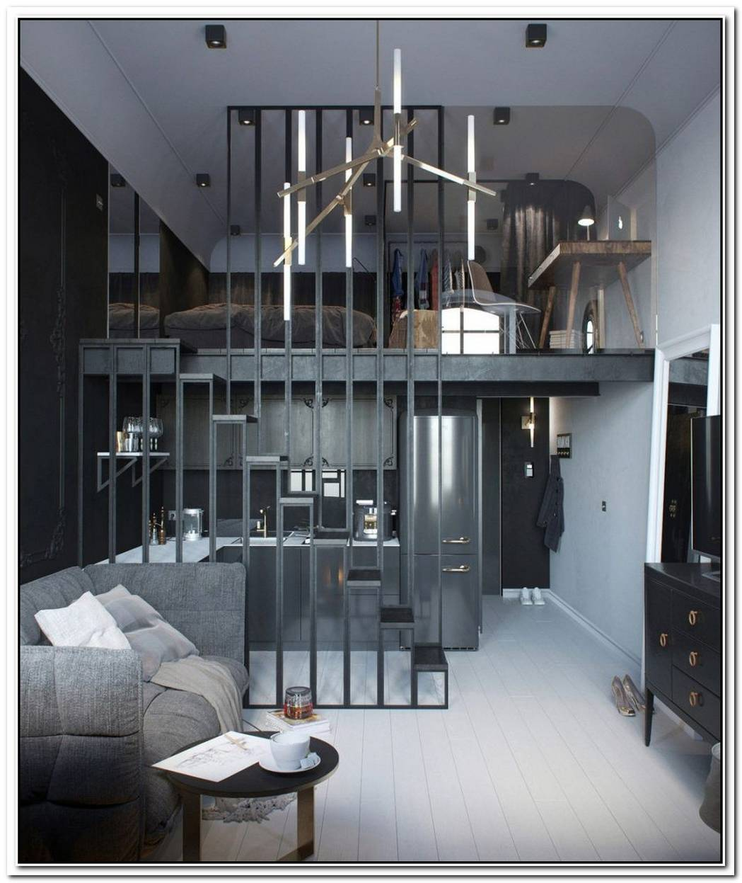 48 Square Meter Apartment With A Bright And Functional Interior Décor