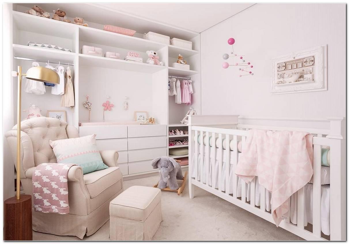 56 Ideias De Quarto De Bebê Feminino Com Dicas Inéditas De Decoração