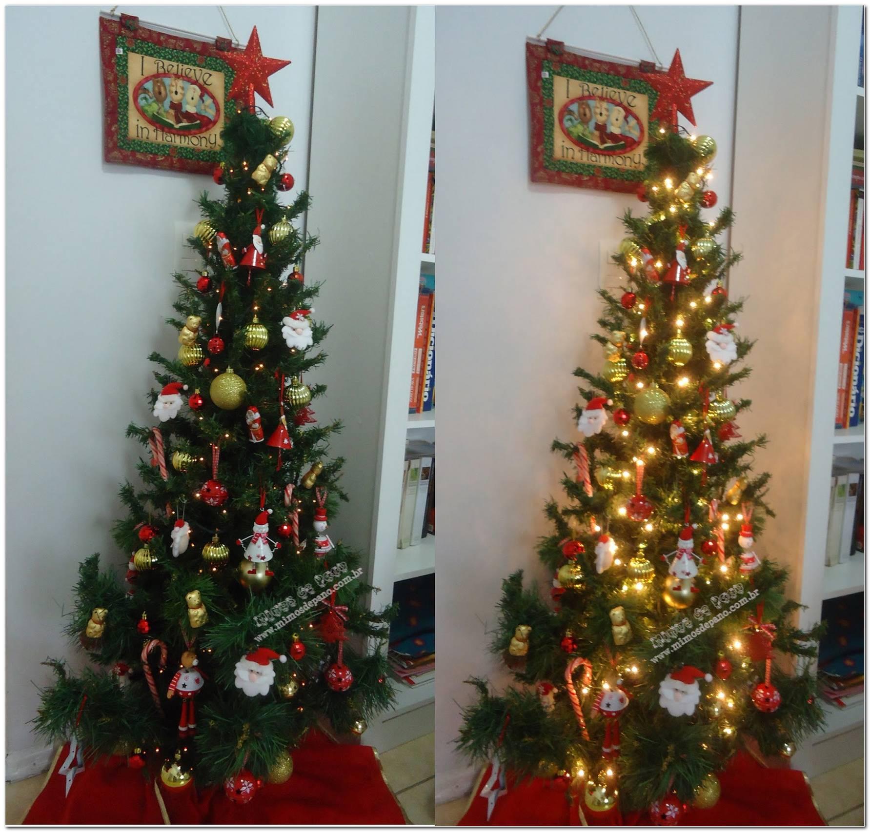 60 Árvores De Natal Decoradas Impressionantes Aprenda A Decorar