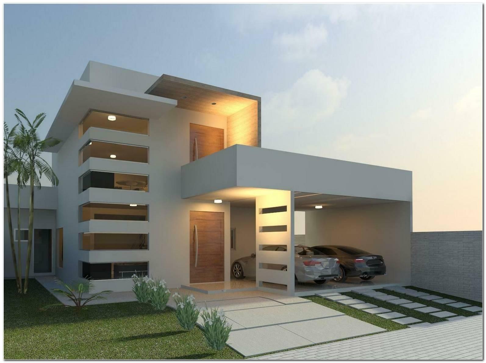 60 Fachadas De Casas Minimalistas Modelos & Fotos