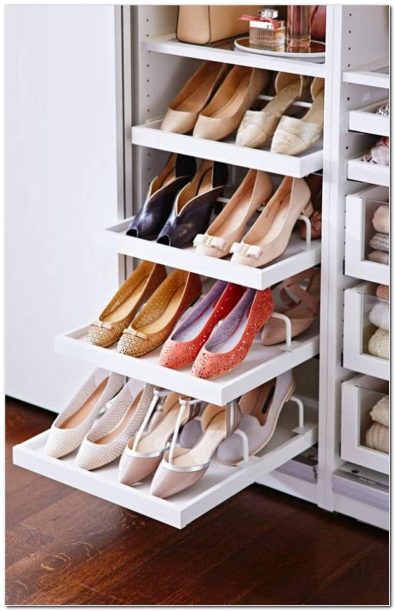 60 Ideias E Dicas De Como Organizar Sapatos