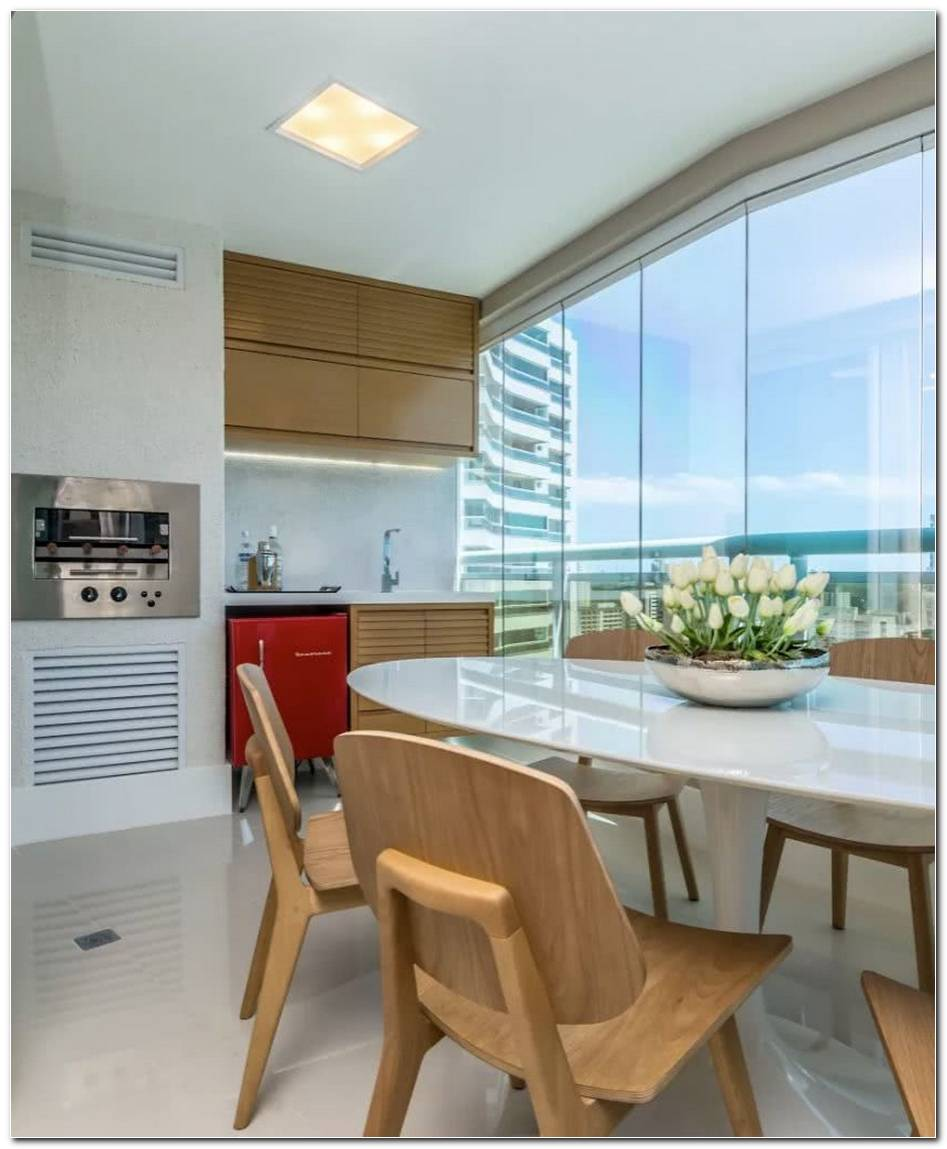78 Varandas Gourmet Decoradas Em Apartamentos E Casas