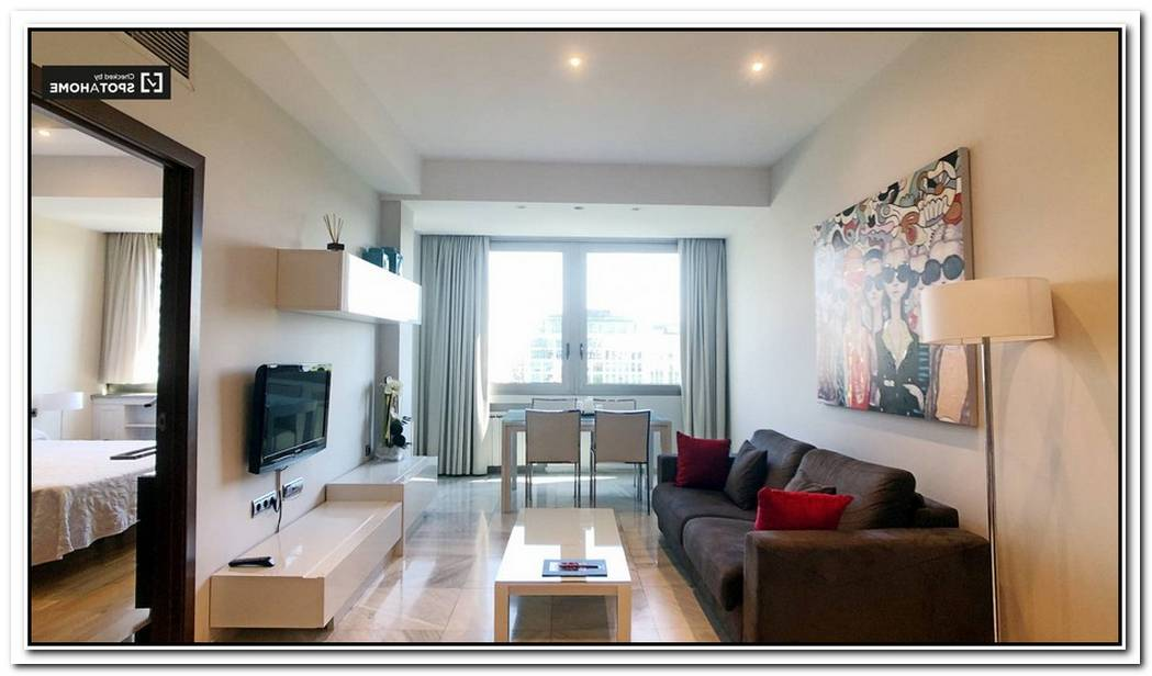 80 M² Bright And Spacious Apartment In Madrid
