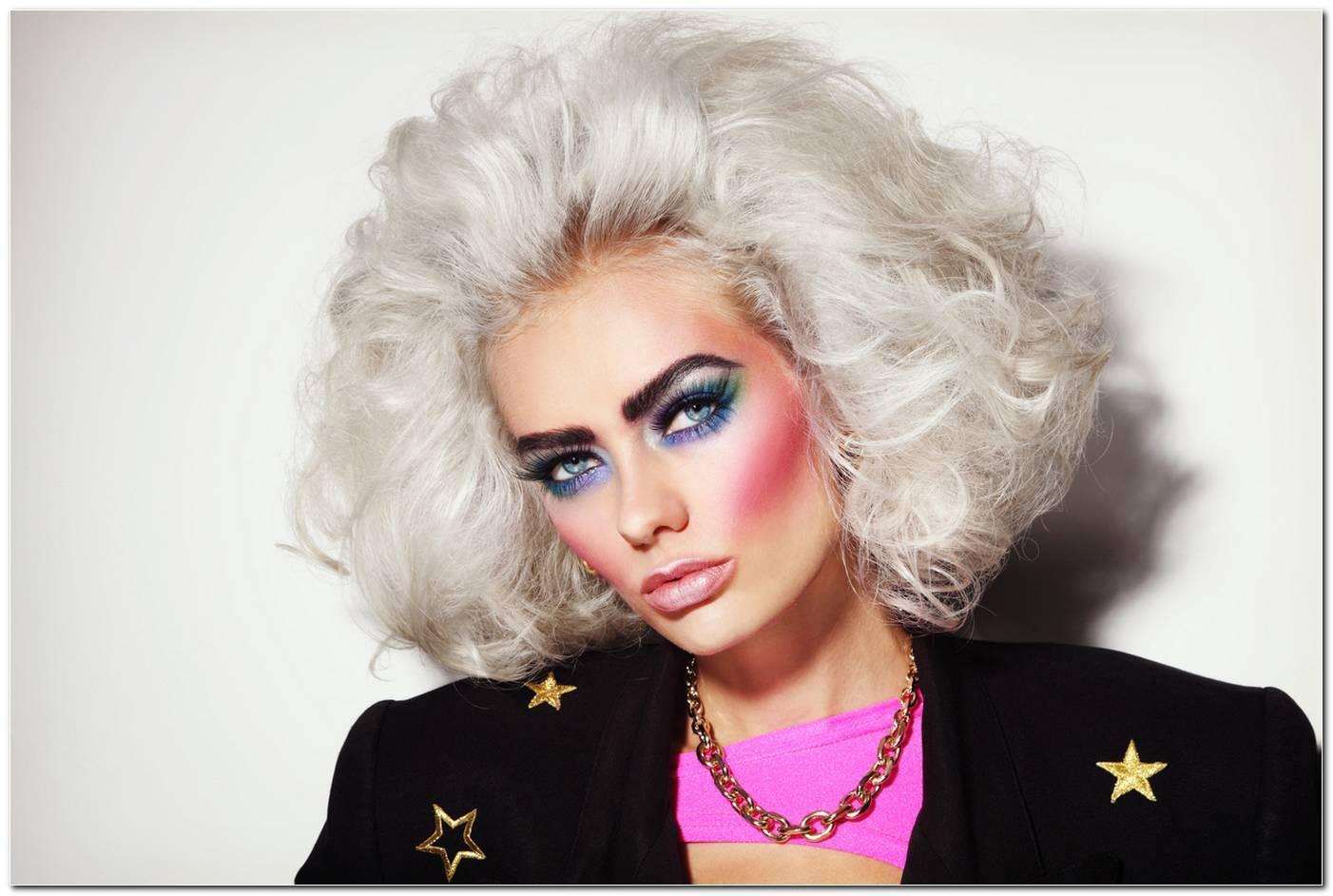 80er Jahre Frisur Frauen