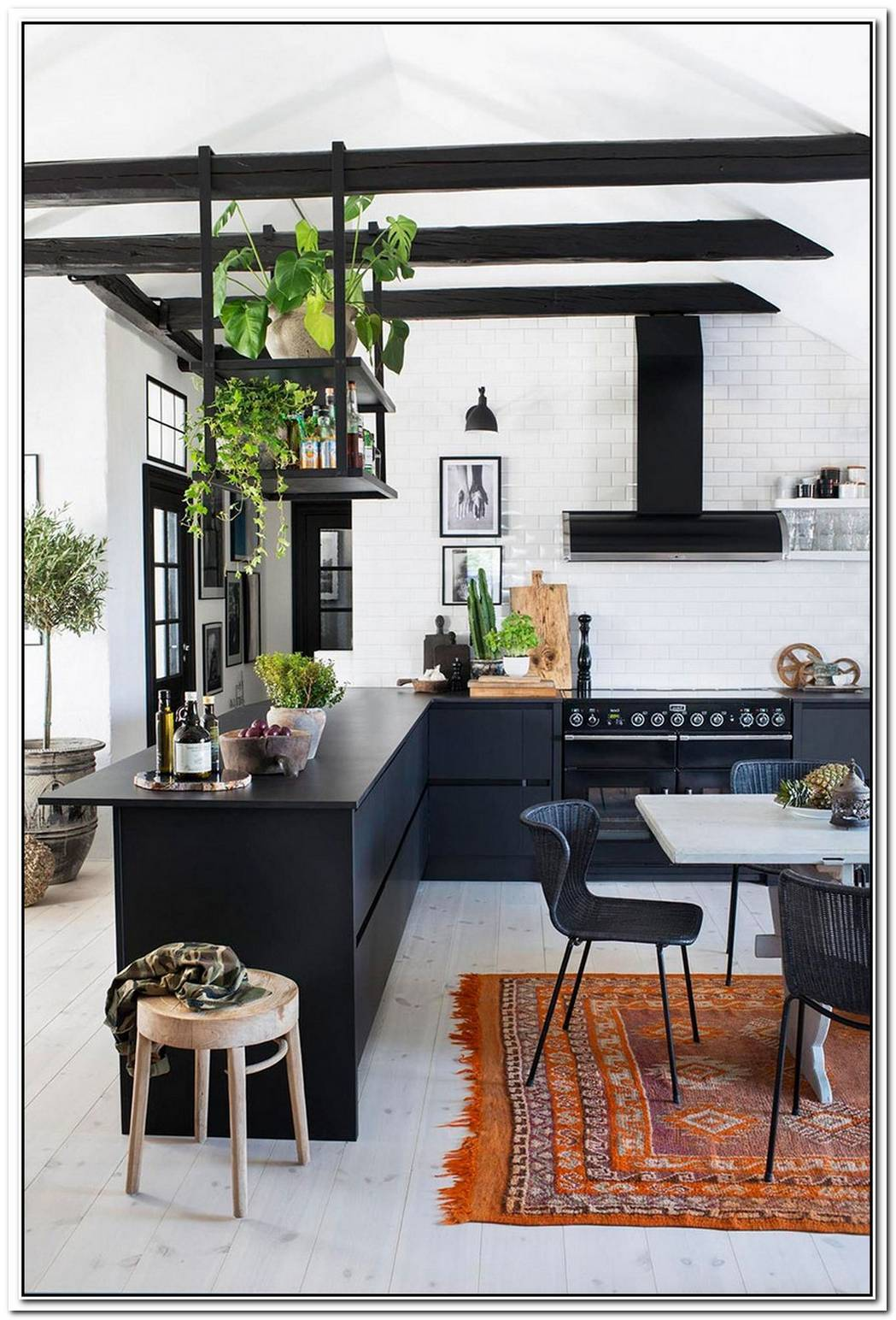 A Charming Attic Apartment In Sweden