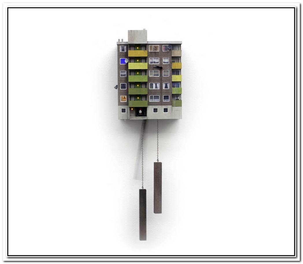 A Contemporary Cucoo Clock By Stefan Hepner