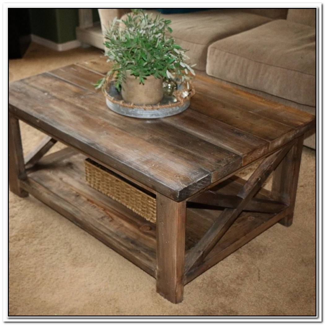 A Cute Natural Fiber Side Table