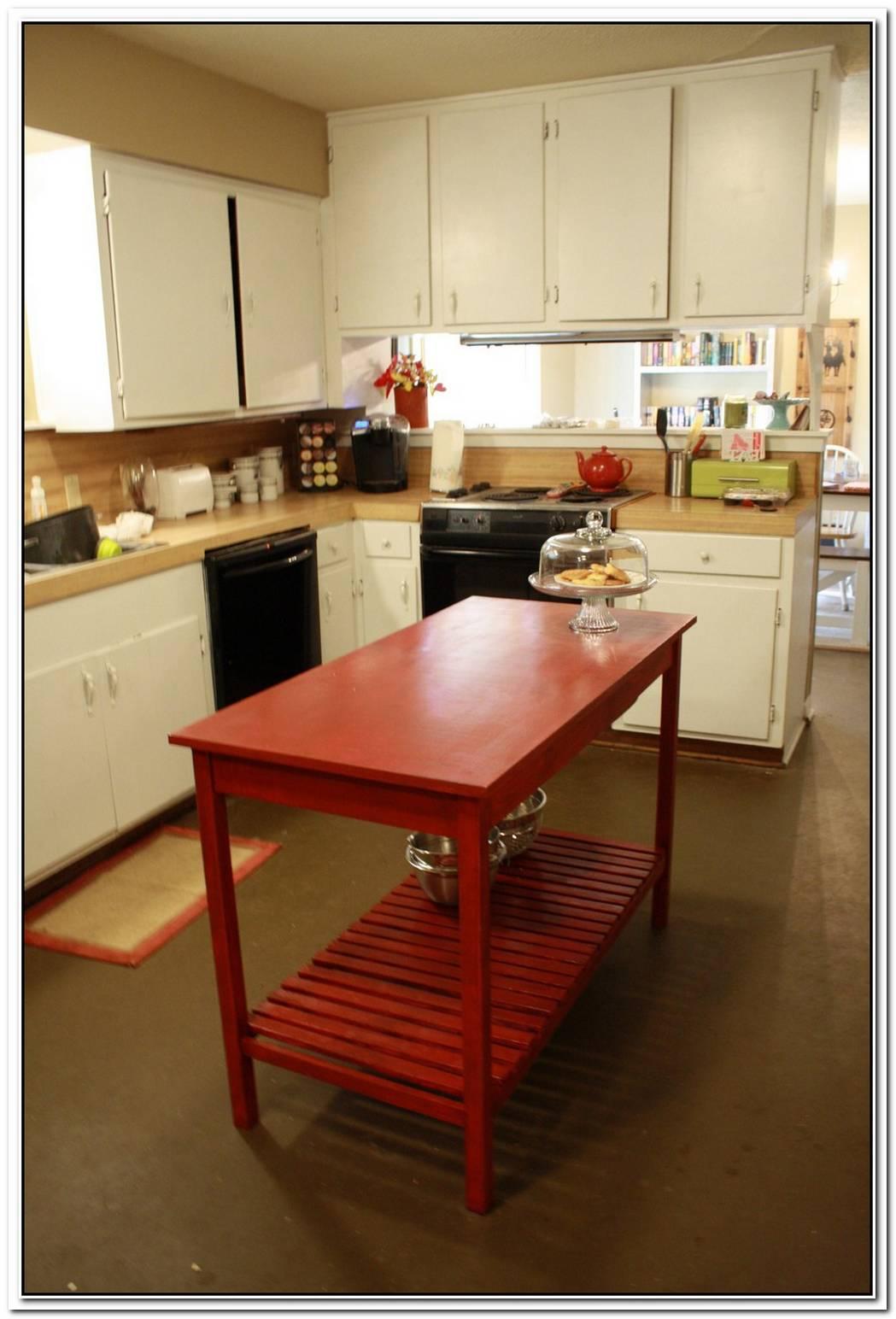 A Diy Modern Kitchen Island For Kids
