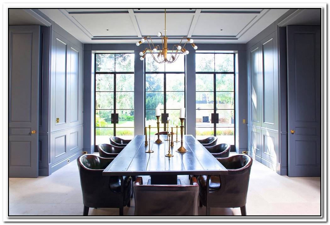 A Dynamic Dining Room Like This Pretty Much Begs For Dinner Parties