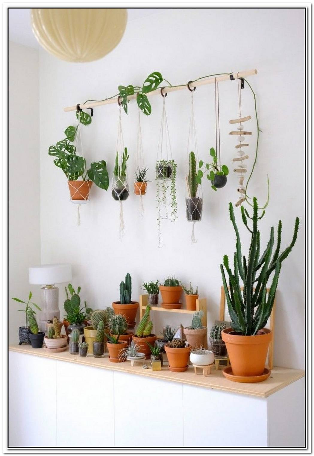 A Few Original Diy Ways Of Displaying Hanging Planters