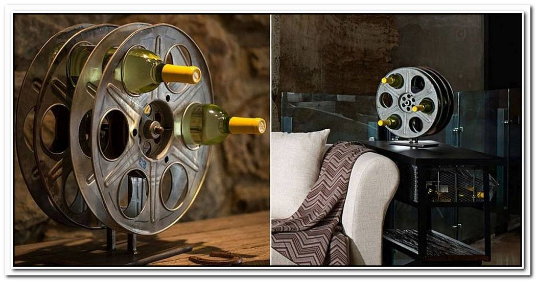 A Homemade Addiction13 Delightful DIY Wine Rack Ideas