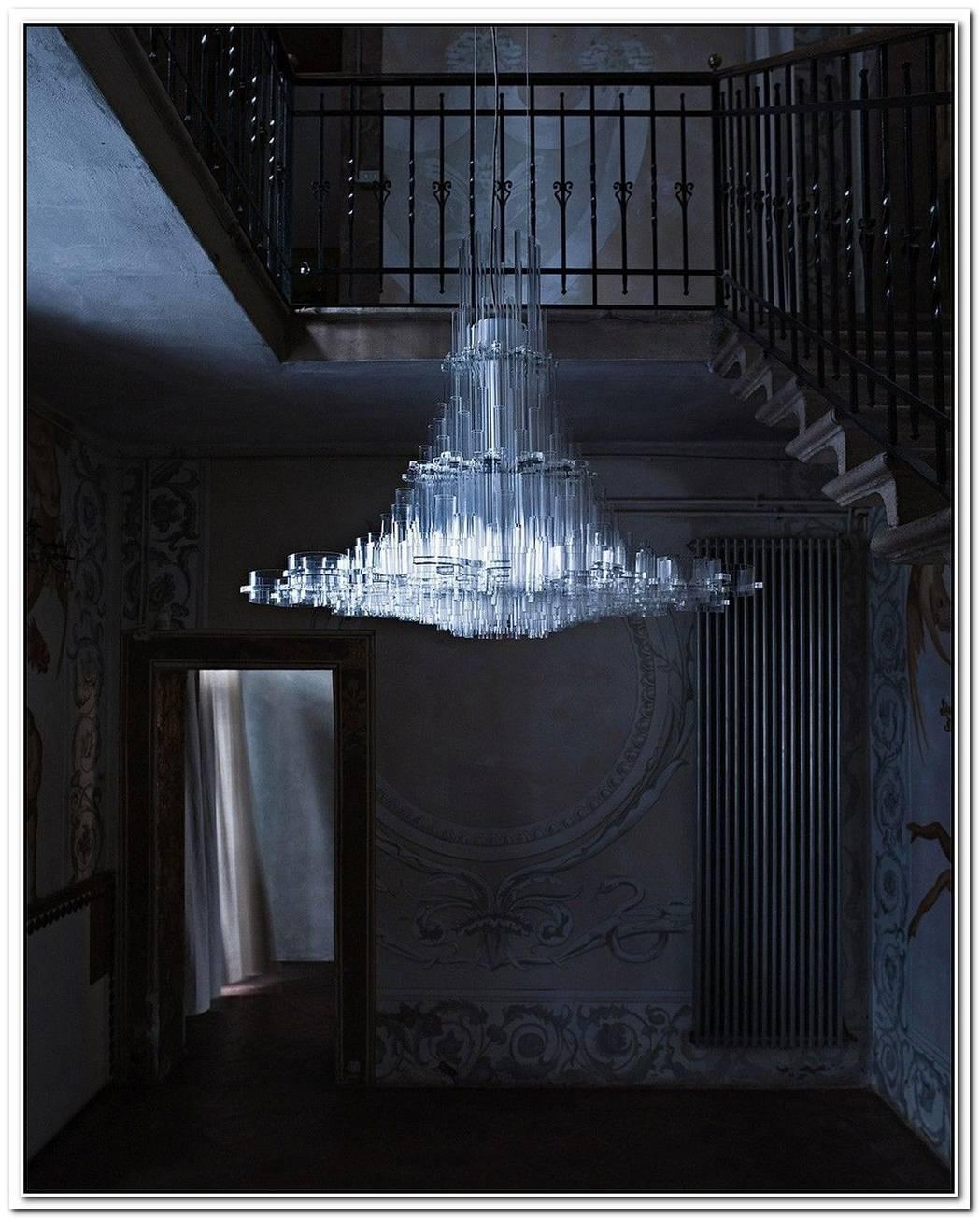 A Modern Uma Chandelier By Giancarlo Tintori