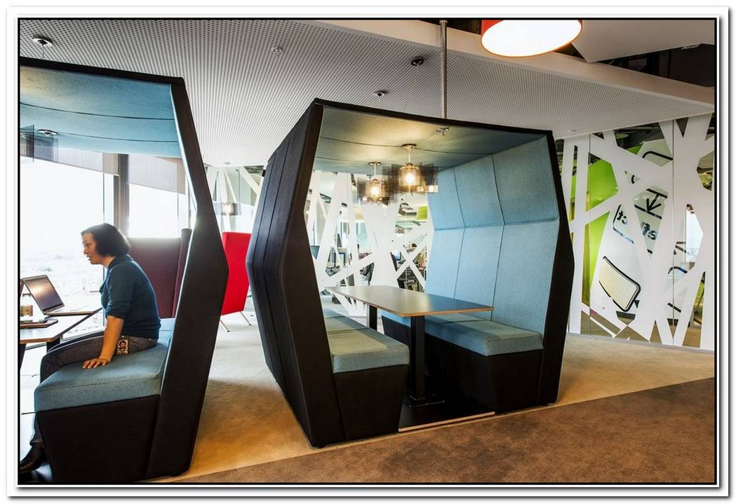 A Playful Take On The Modern Design That Suits The Dublin Google Campus Perfectly