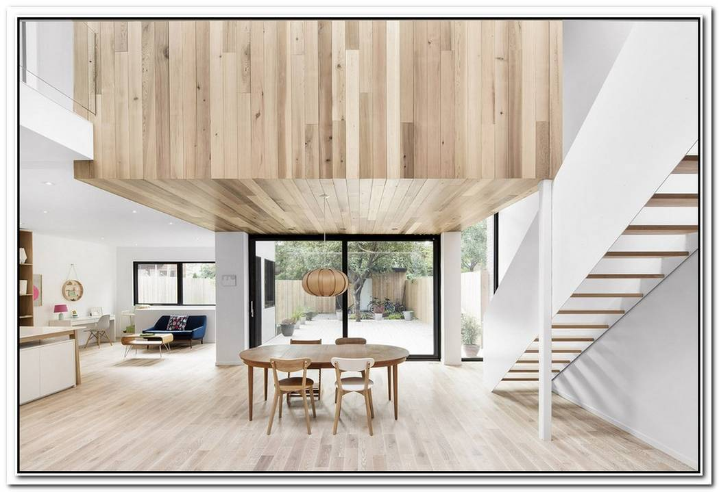 A Stunning Skylight In Minimalist Canadian Remodel