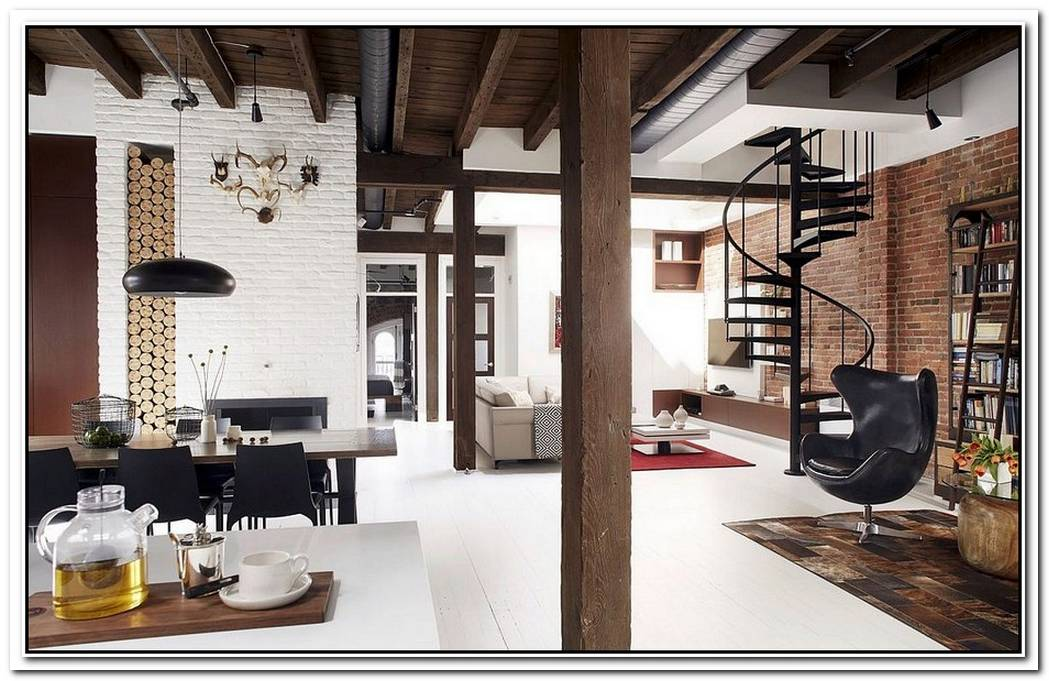 A Stylish Industrial Loft