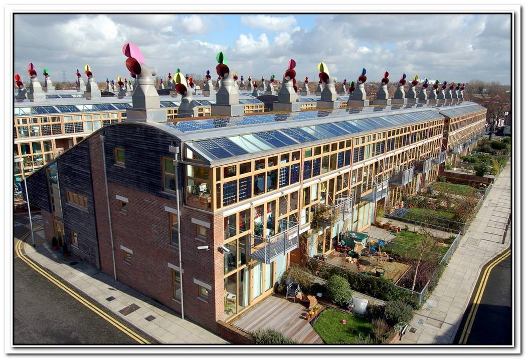 A Sustainable Dual Community In London