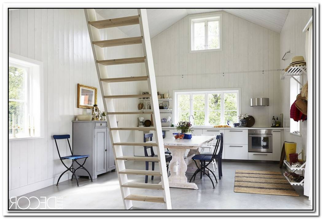 A Swedish Summer Cottage With A Colorful Interior