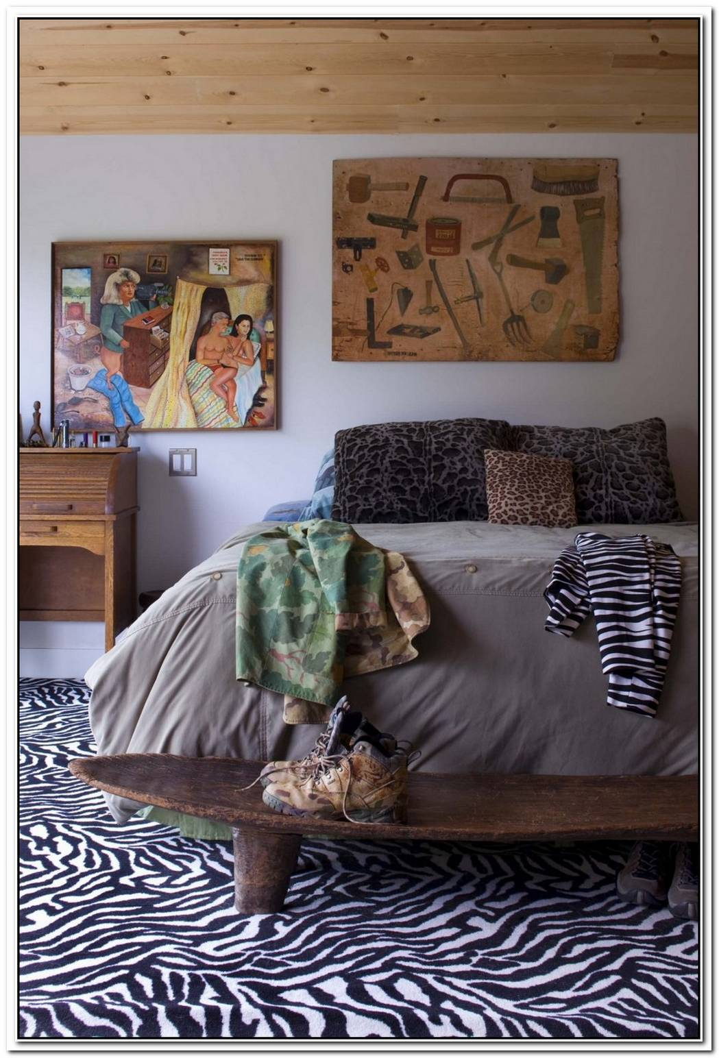 A Touch Of The Wild Different Uses For Zebra Prints In Home Décor