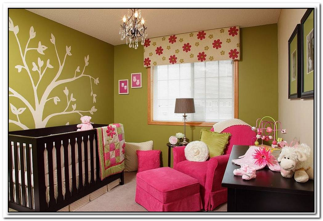 A Trendy Tinge Of FreshnessGorgeous Green Nursery Ideas