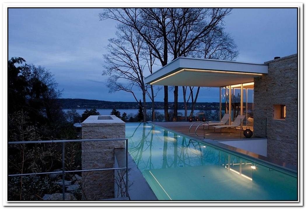 A View To SavorSophisticated And Minimal S House Overlooking Lake Starnberg