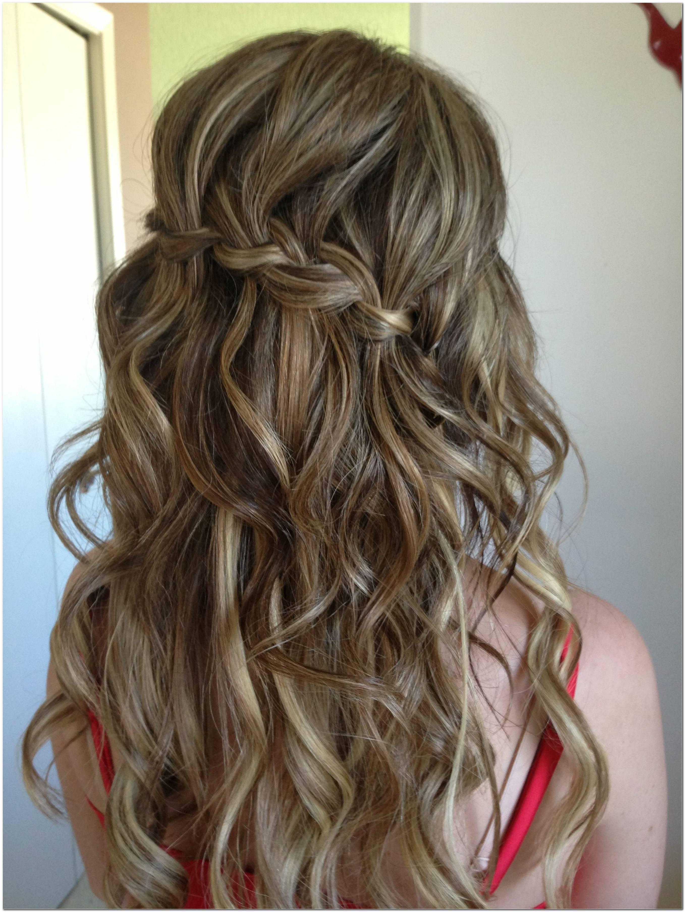 Abschlussball Frisuren Offen