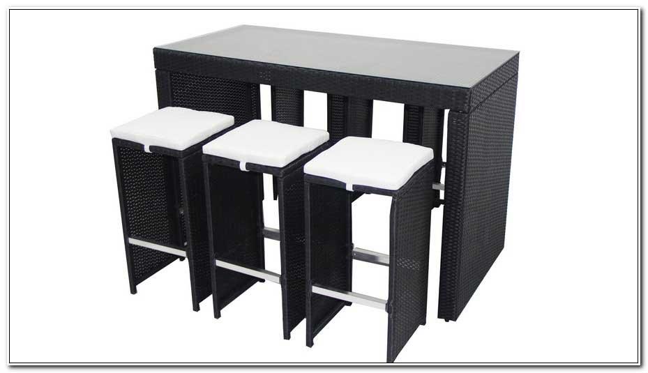 Achat Table Haute De Jardin