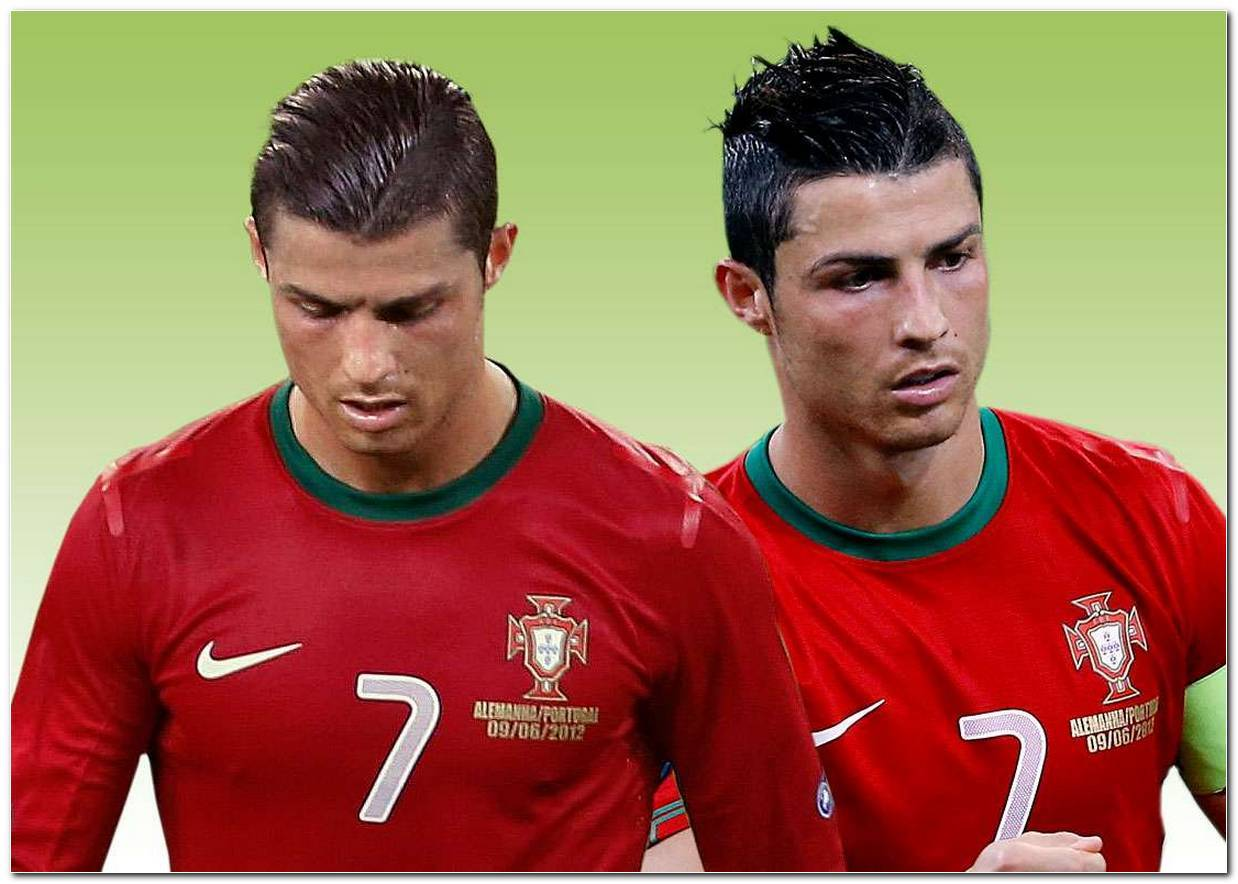 Aktuelle Frisur Von Cristiano Ronaldo
