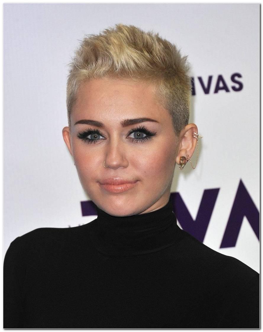 Aktuelle Frisur Von Miley Cyrus