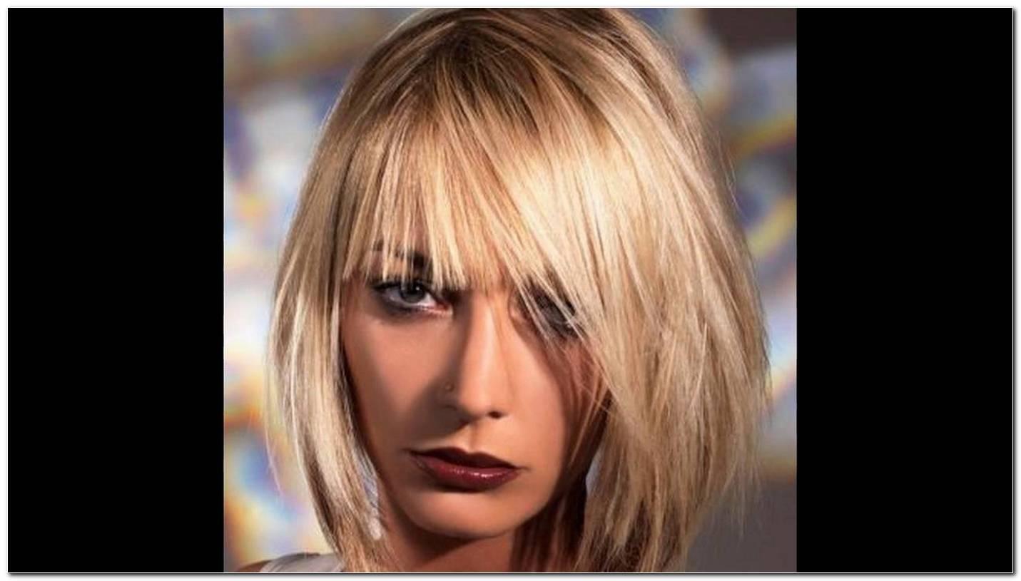 Aktuelle Frisuren Damen Halblang
