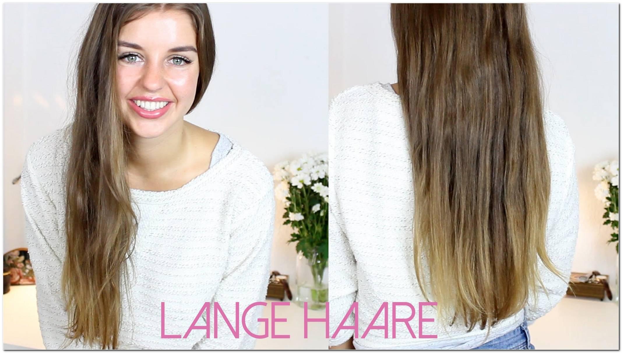 Aktuelle Frisuren Lange Haare
